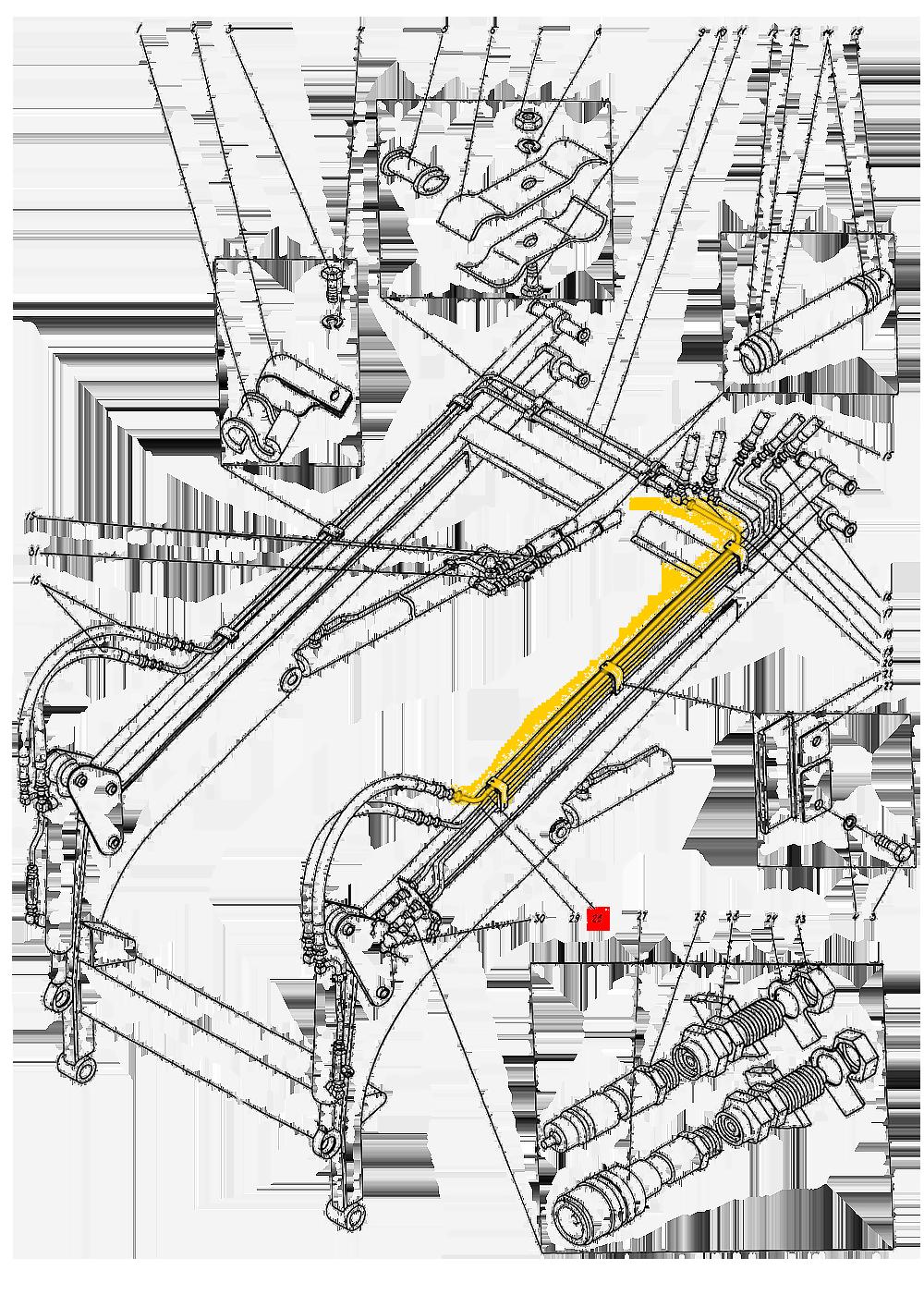 Трубопровод П1.10.05.010-сб-1