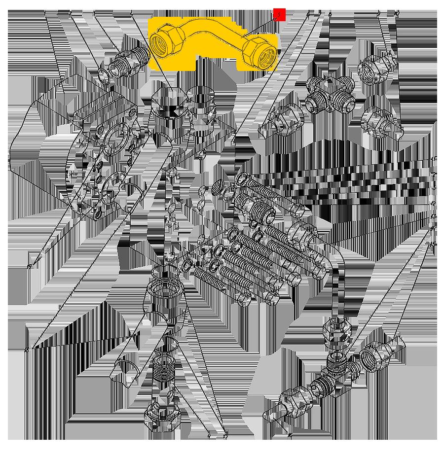 Трубопровод П1.11.00.017-сб-1