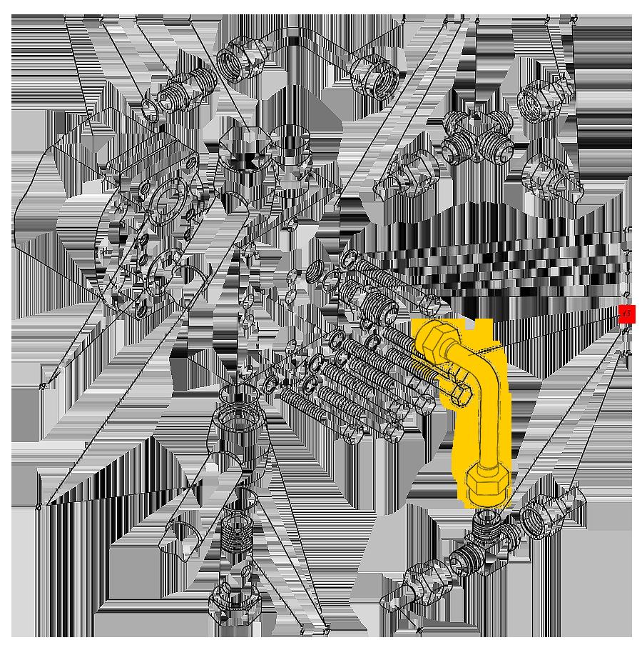 Трубопровод П1.11.00.043-сб