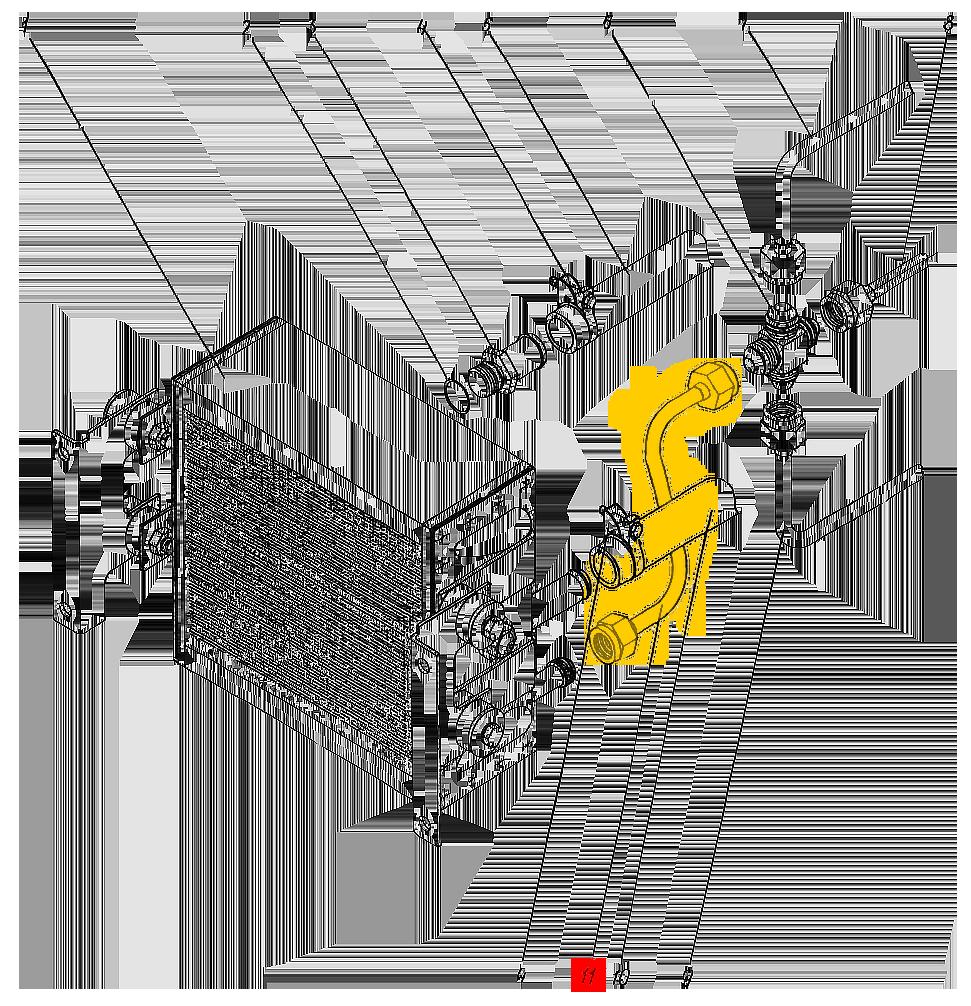 Трубопровод П1.11.00.045-сб-1