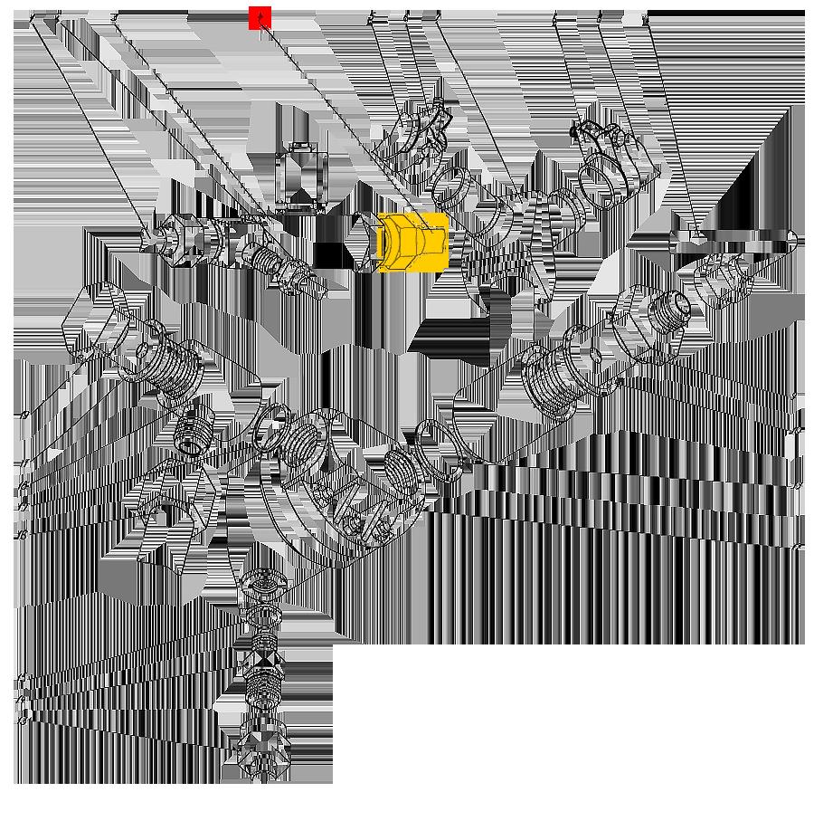 Трубопровод П1.11.00.050-сб-1