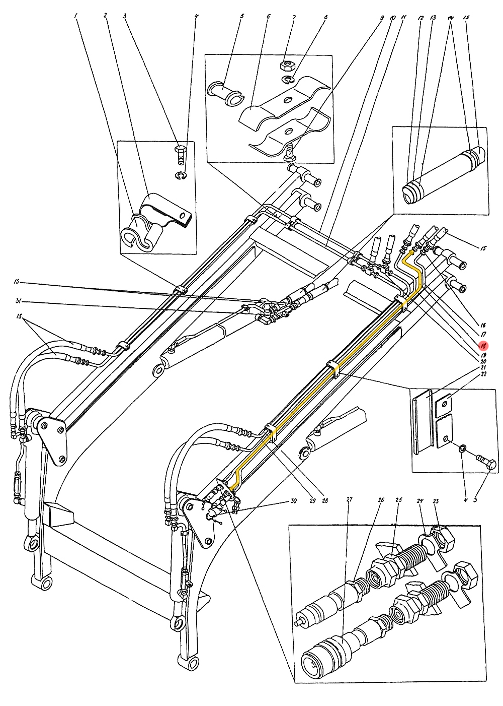 Трубопровод П1.10.05.080-сб-1