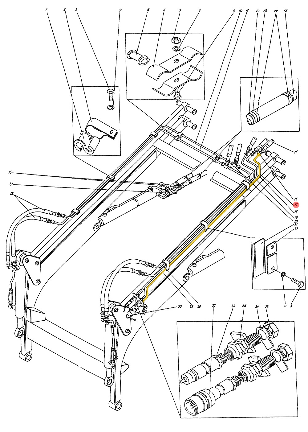 Трубопровод П1.10.05.090-сб-1-А
