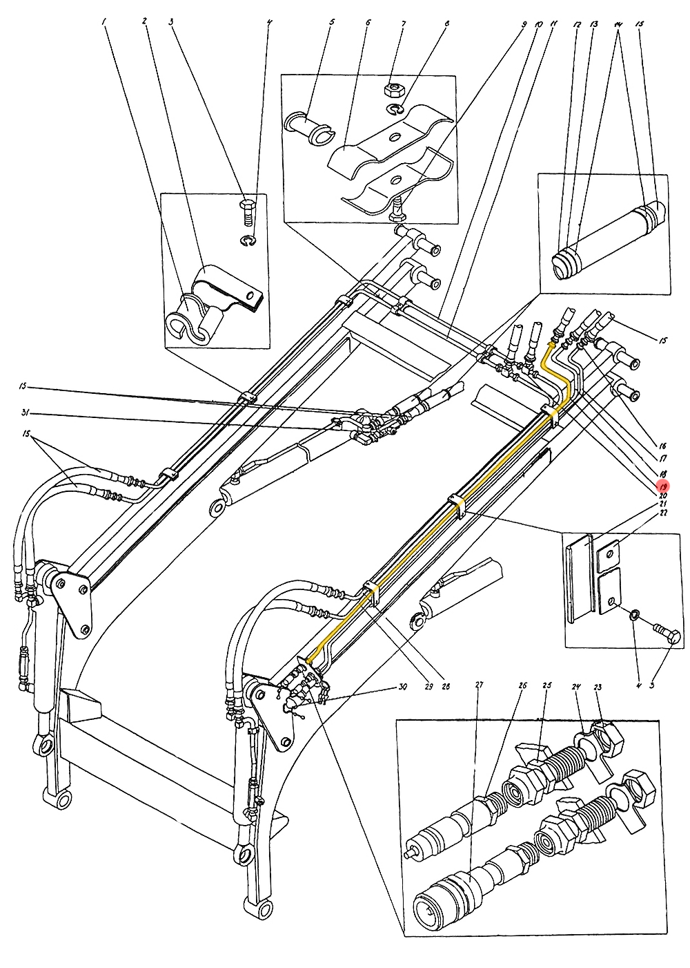 Трубопровод П1.10.05.120-сб-1