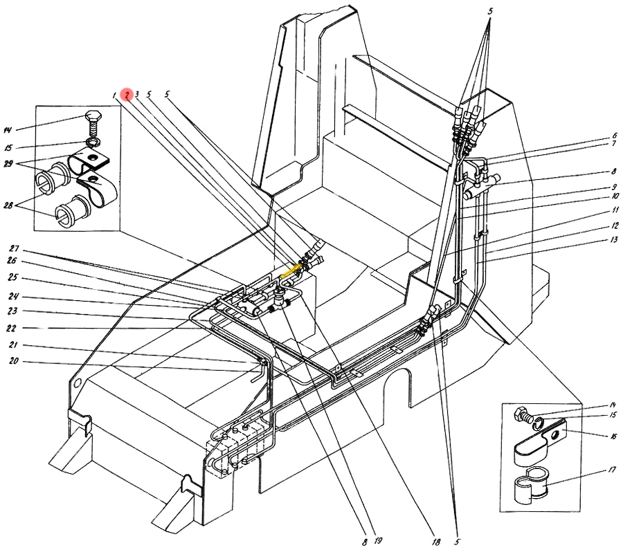 Трубопровод П1.12.00.270-сб-1