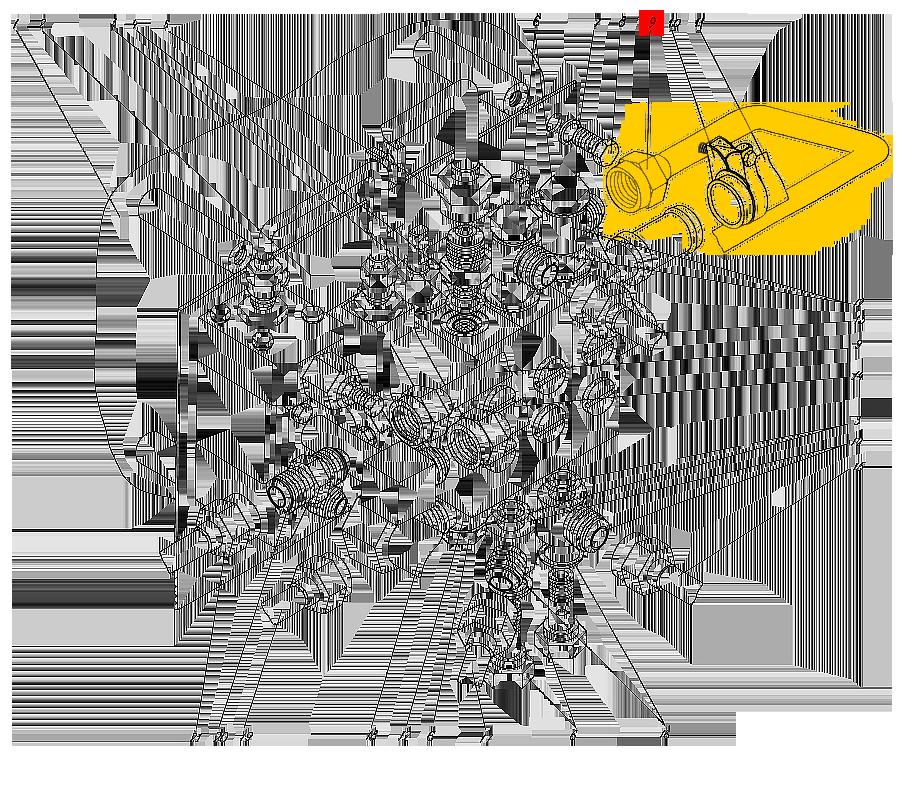 Трубопровод П1.12.00.390-сб-3