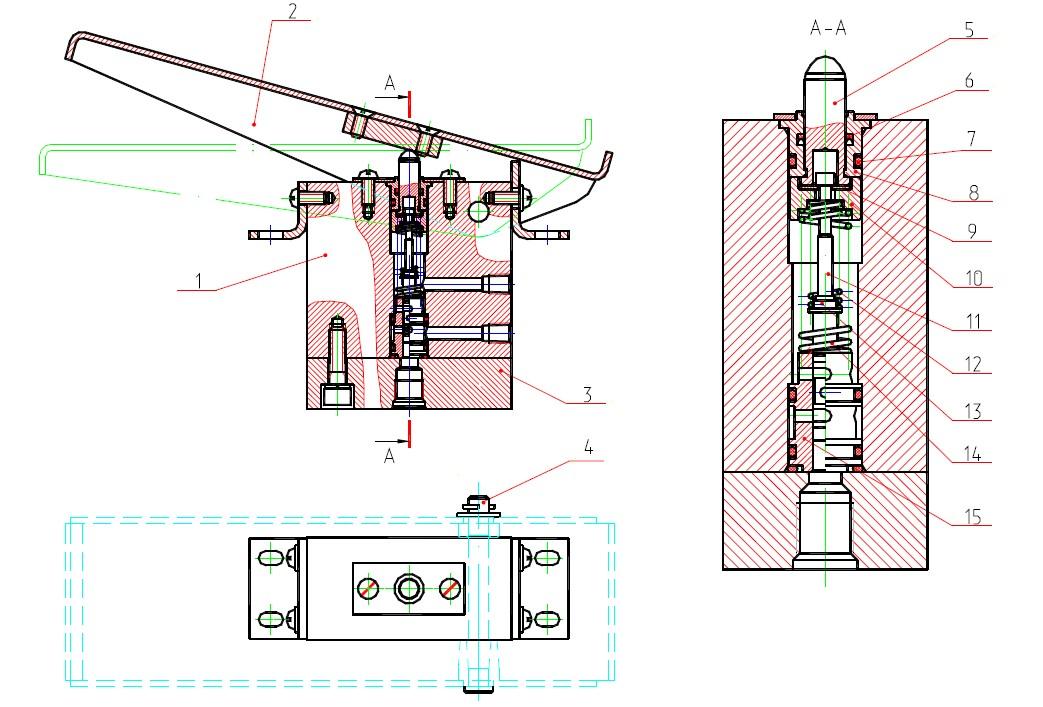 Блок управления педальный 13.80.04.920-20