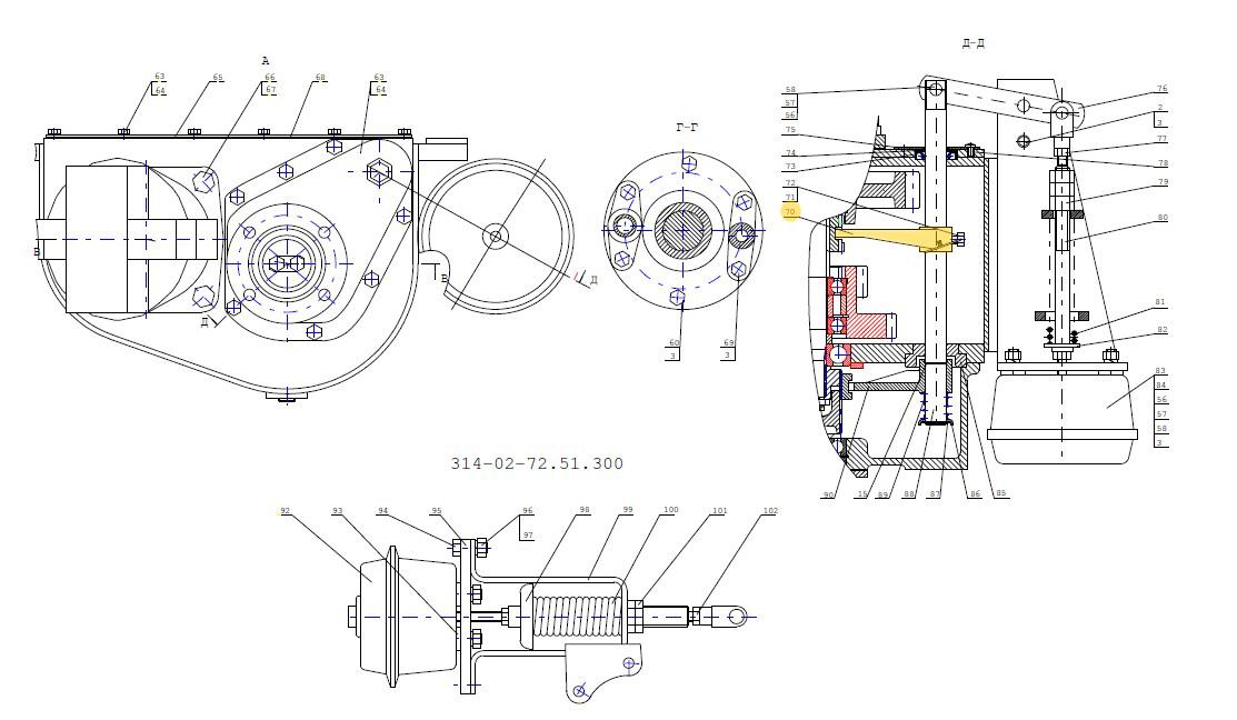 Вилка ЕК-14А.72.51.045