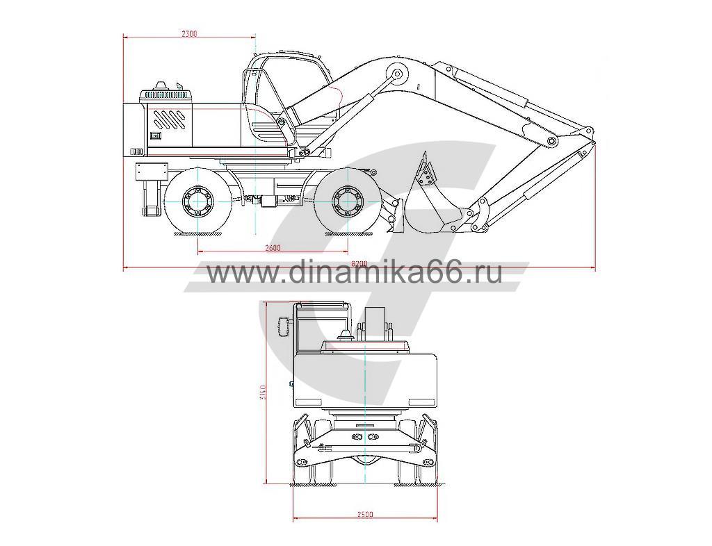 Технические характеристики ЕК-14