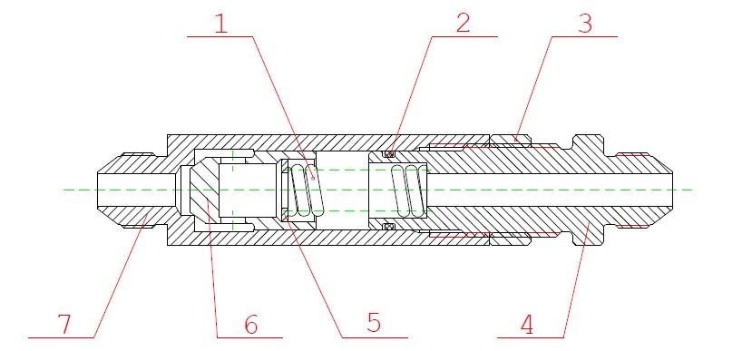 Клапан подпорный ЭО-3323А.08.07.220