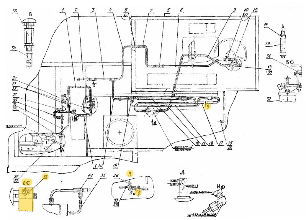 Клапан электромагнитный КЭМ16-12
