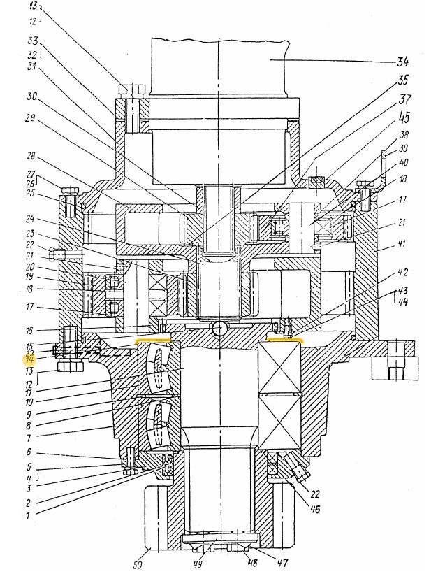Кольцо защитное ЭО-3322Б.03.30.015