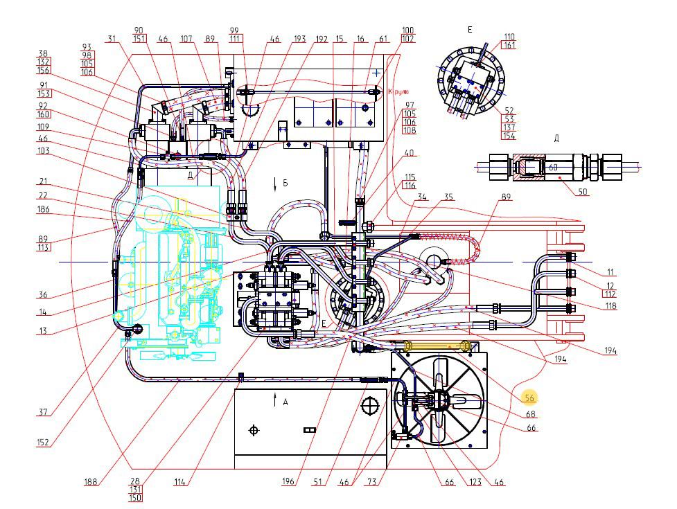 Трубопровод 314-02-80.01.320
