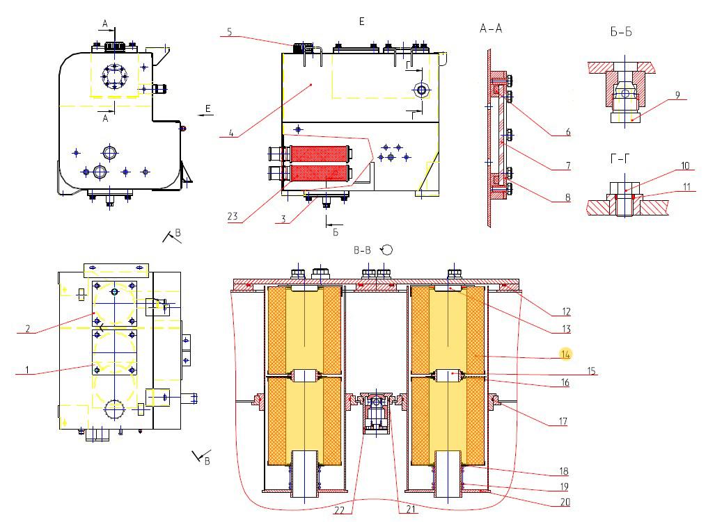 Фильтр гидравлический 661-1-05