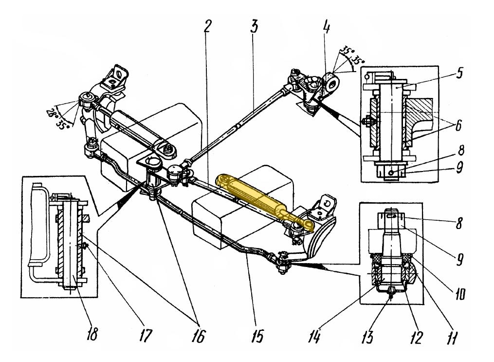 Гидроцилиндр ЭО-3323А.71.80.300-10