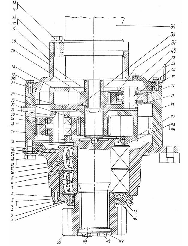 Механизм поворота ЭО-3322Б.03.30.000