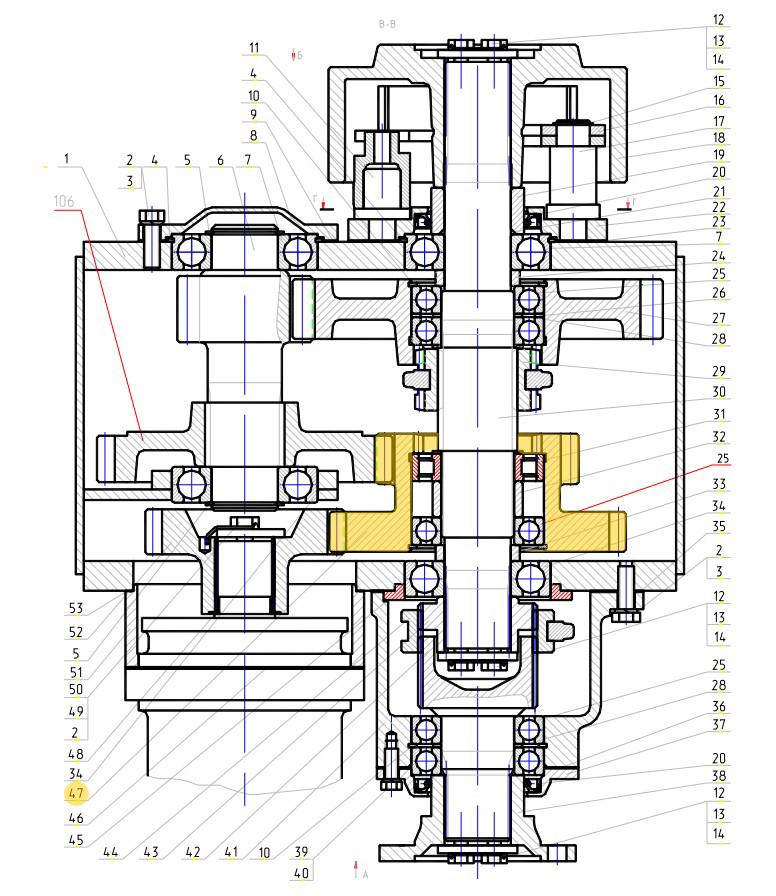 Шестерня КПП 318-14-72.51.006