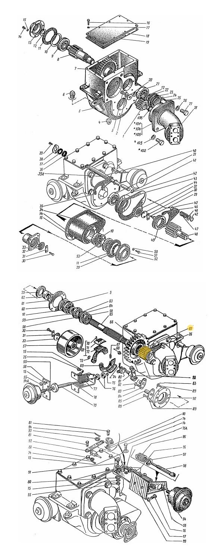 Шестерня ЭО-3323.20.50.004