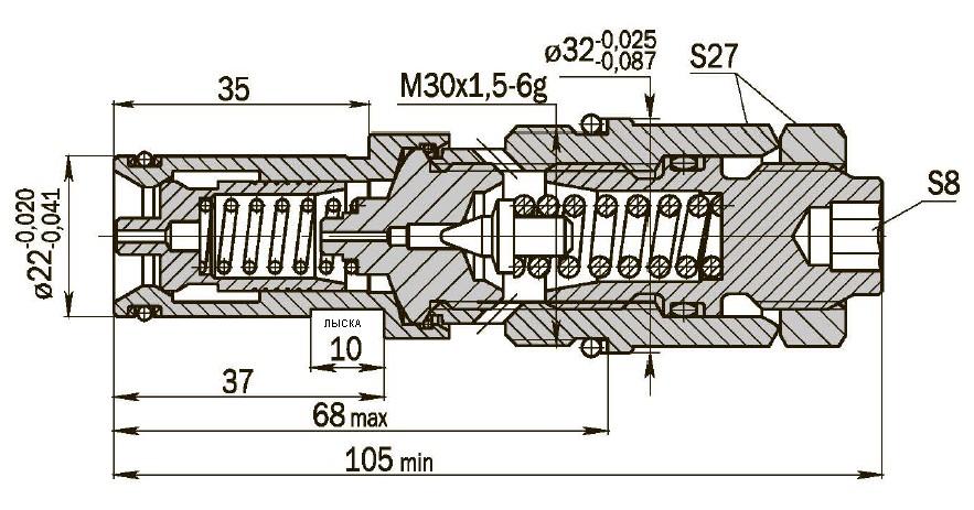 КП20-250-40-ОС