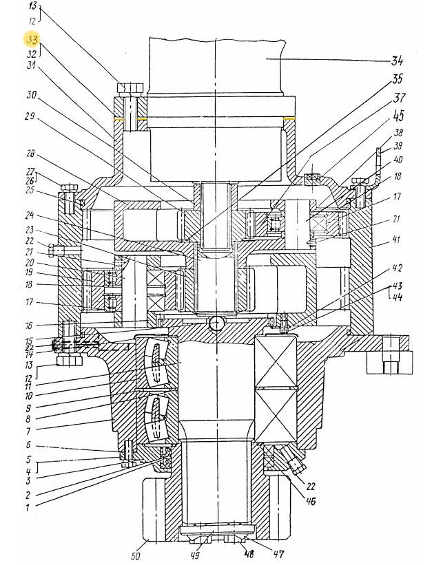 Прокладка ЭО-3322Б.03.30.022