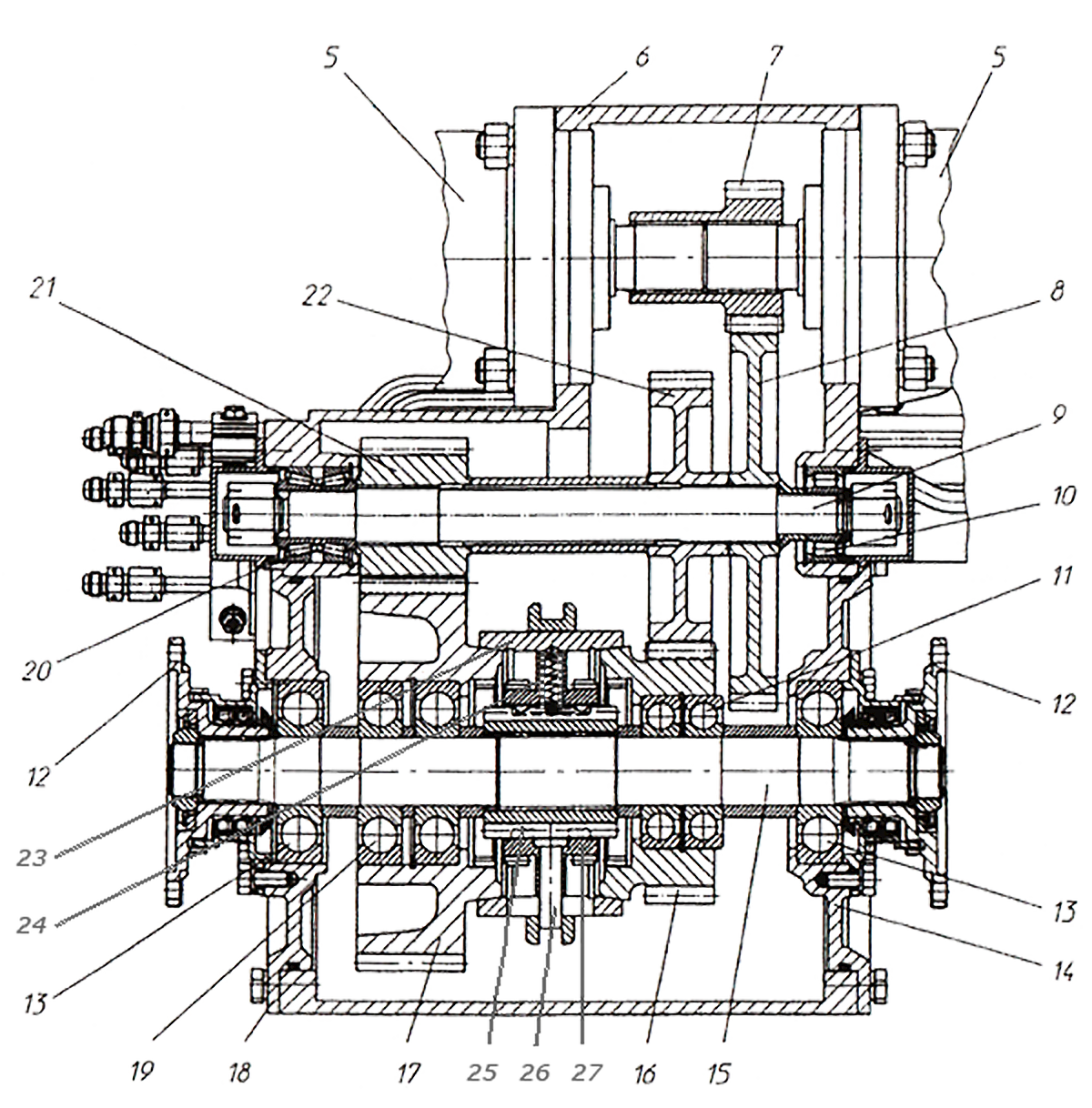 Корпус коробки ЭО-33211