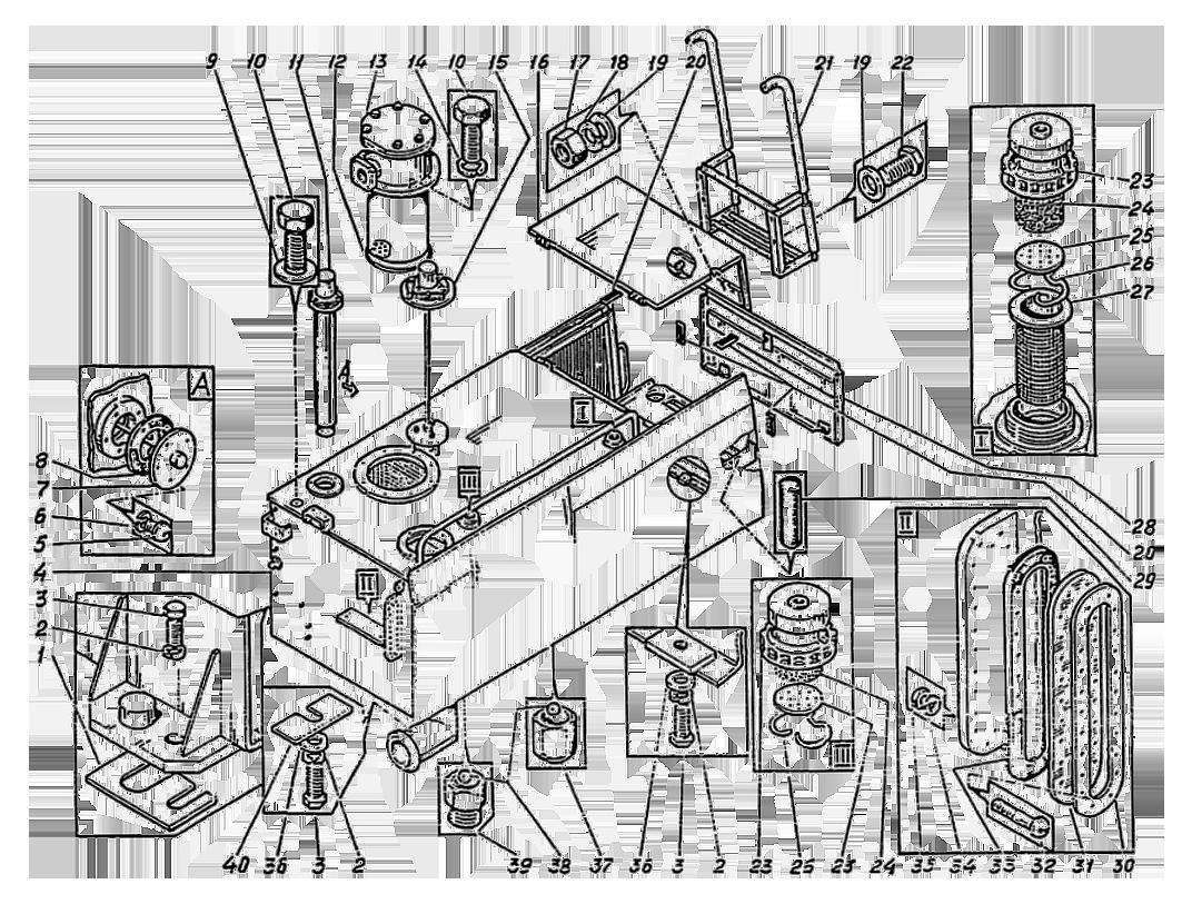 Бак гидравлический ЭО-5126
