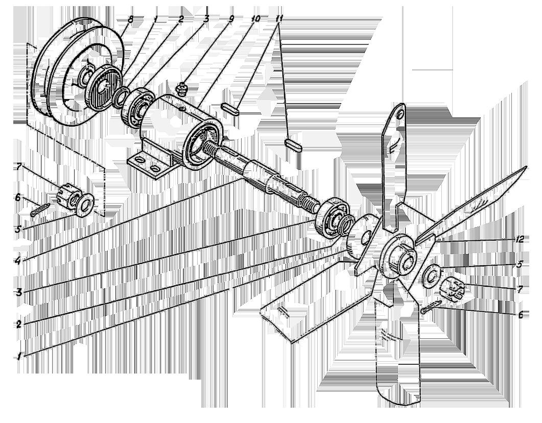 Вентилятор Э4.11.25.004сб