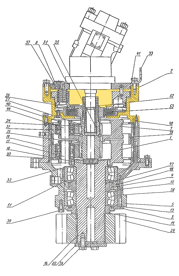 Корпус тормоза Э4.03.01.013
