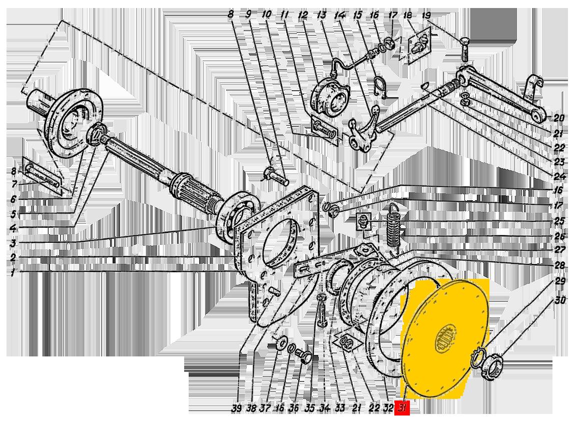 Полумуфта ЭО-5122.11.12.002-2