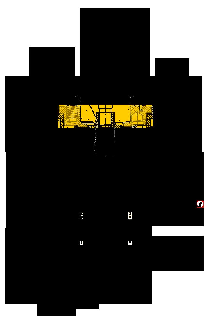 Поршень тормоза Э4.01.17.039