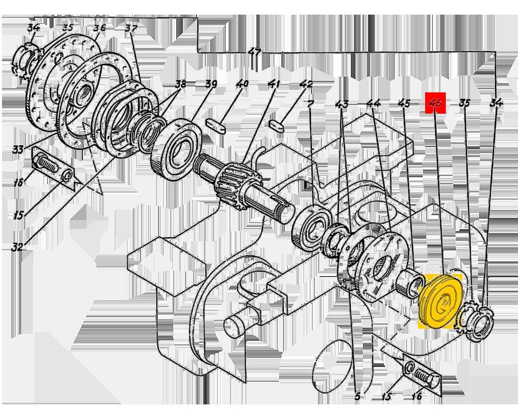 Шкив ЭО-5122.11.08.109-1