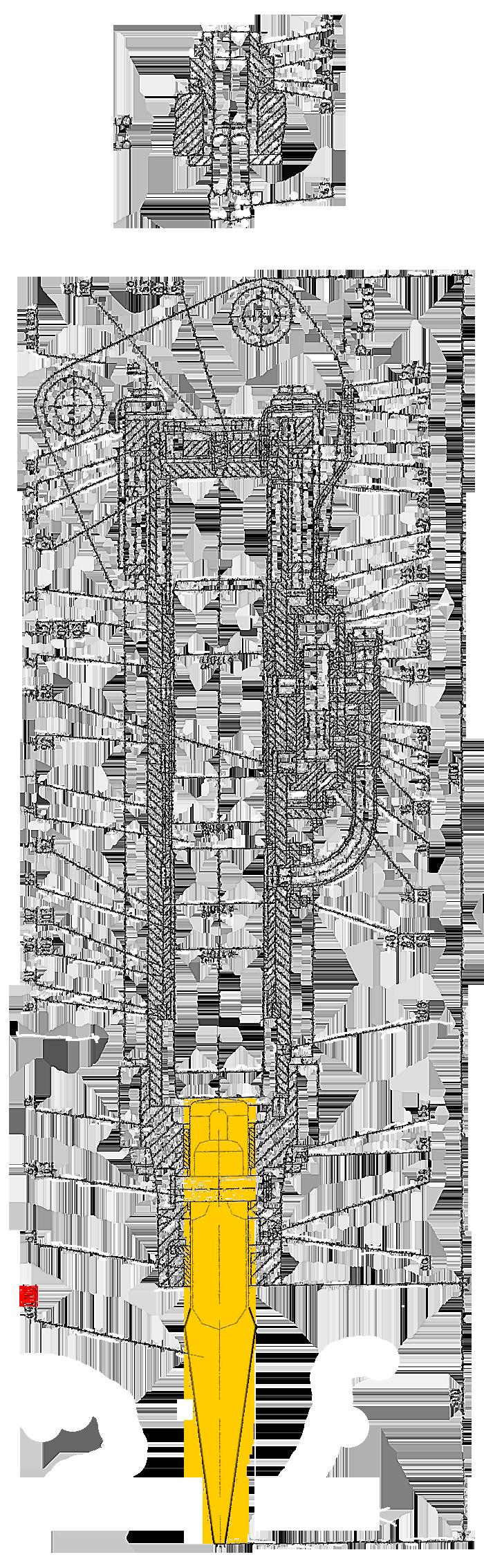 Клин гидромолота СП-71.1.00.101