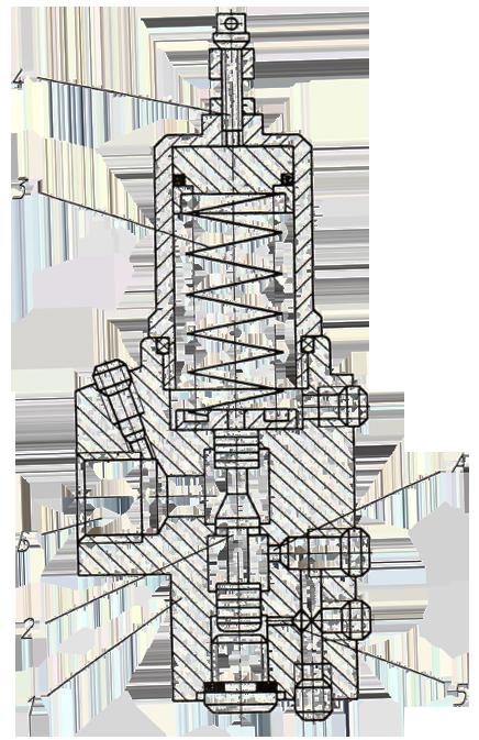 Гидроклапан давления ЭО-33211