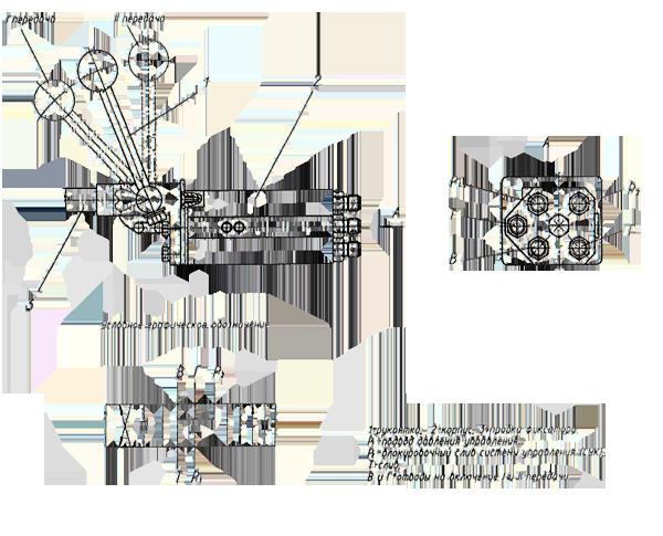Переключатель коробки передач Э20.01.02.003
