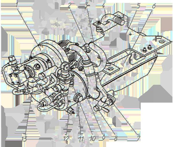 Подогреватель Э4.11.18.001сб-1