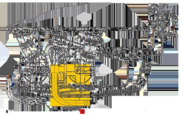 Трубопровод Э20.09.05.019сб-3