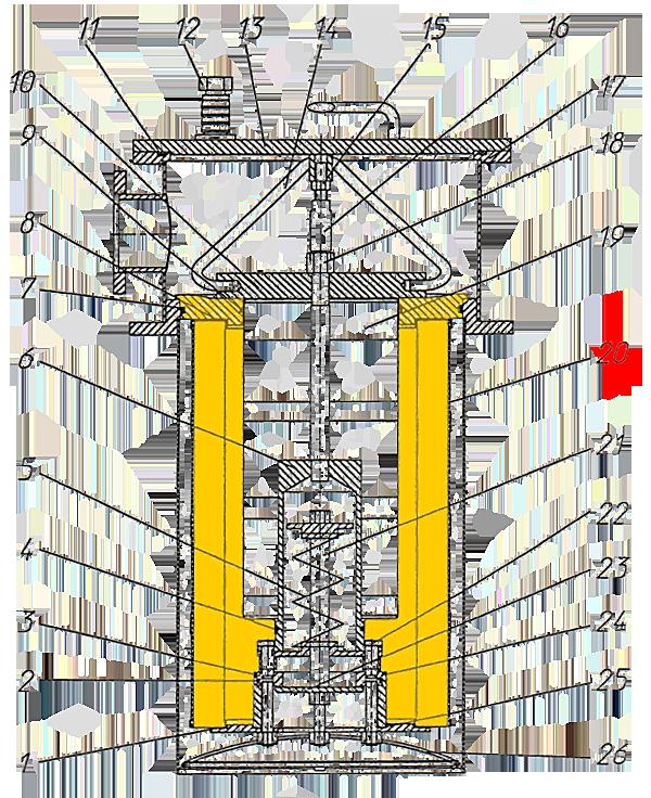 Фильтр гидравлический ЭО-33211 (внешний)
