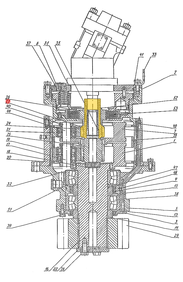 Шестерня Э4.01.17.033