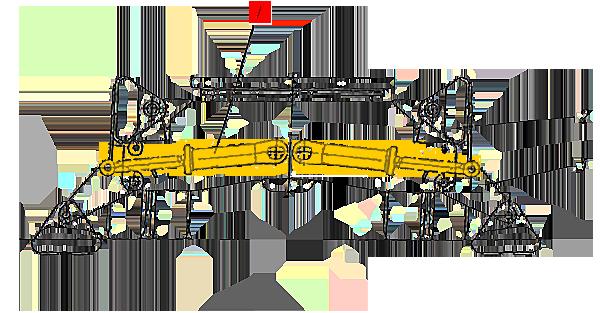 Гидроцилиндр аутригера