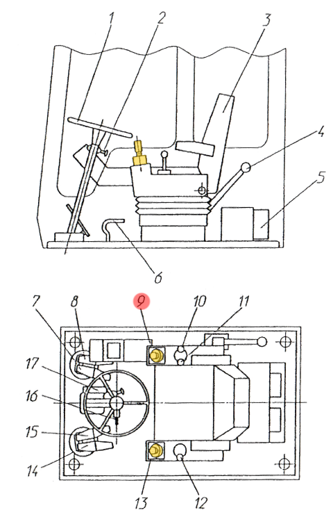 Блок управления П741 Н-00-000
