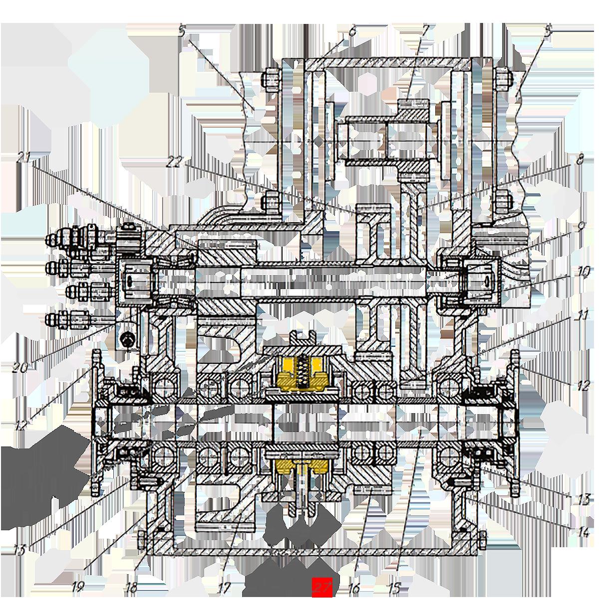 Муфта синхронизатора Э20.01.02.089