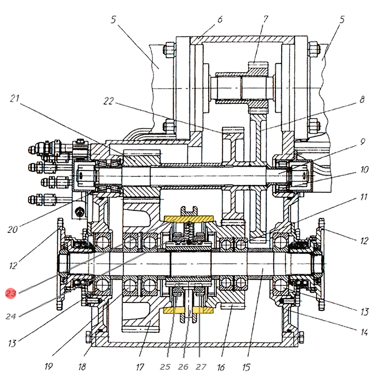 Корпус синхронизатора Э20.01.02.090