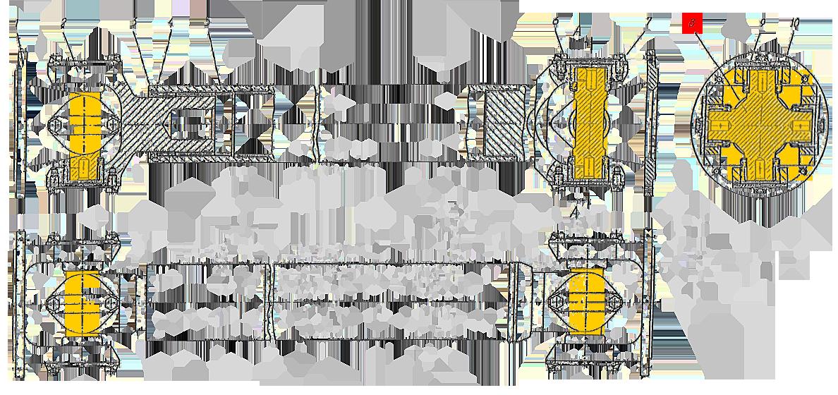 Крестовина карданного вала ЭО-33211
