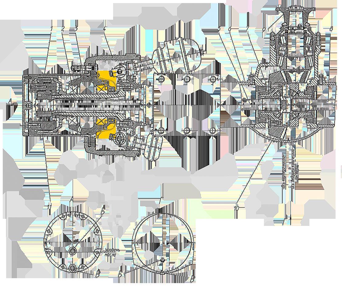 Крышка ступицы ЭО-33211