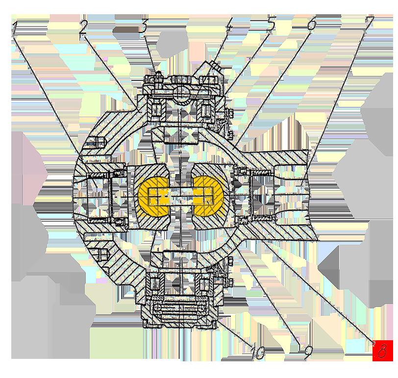 Кулак шарнира переднего моста Э20.01.04.004