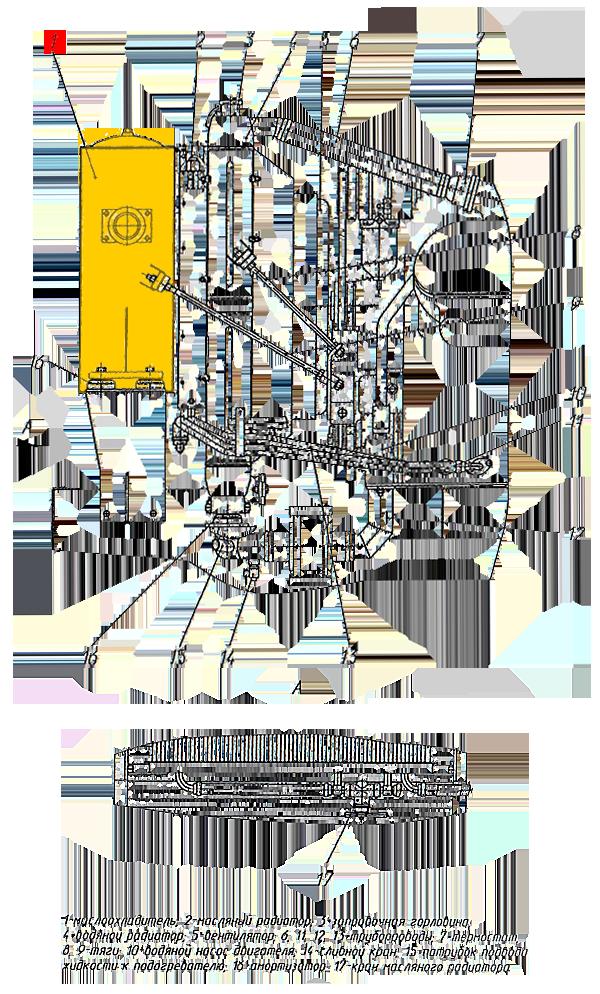 Маслоохладитель ЭО-33211