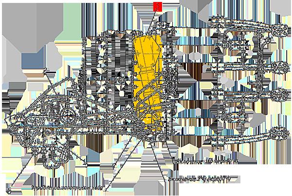 Механизм включения 2-й передачи ЭО-33211