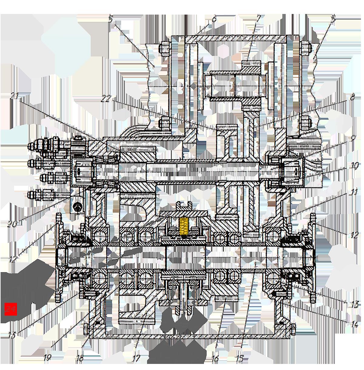 Пружина синхронизатора КПП ЭО-33211