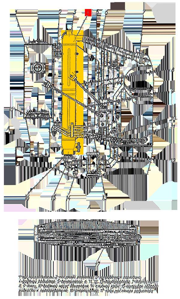 Радиатор водяной ЭО-33211