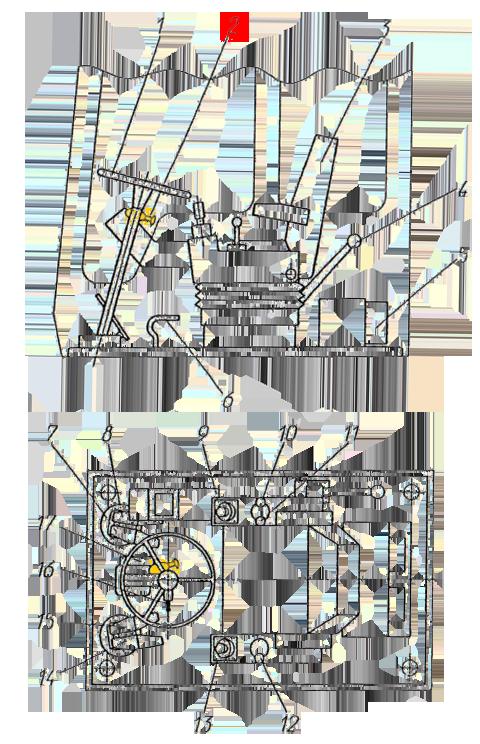 Кран тормозной ЭО-33211
